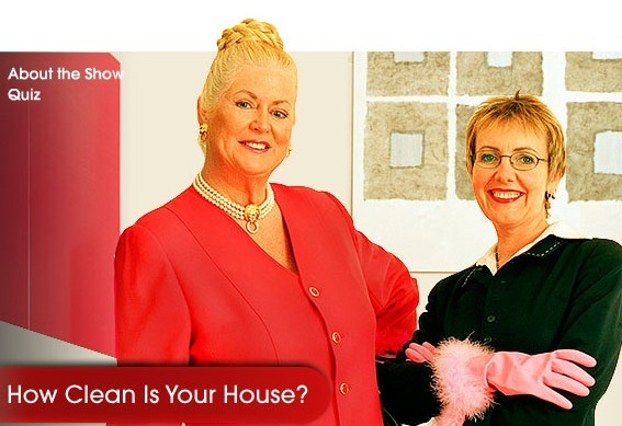 Do you pick up cleaning tips from Kim and Aggie in 'How Clean is